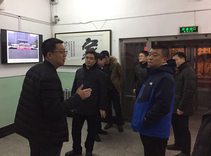 哈尔滨中专学校-校参加全省普通中等专业学校派遣职能交接